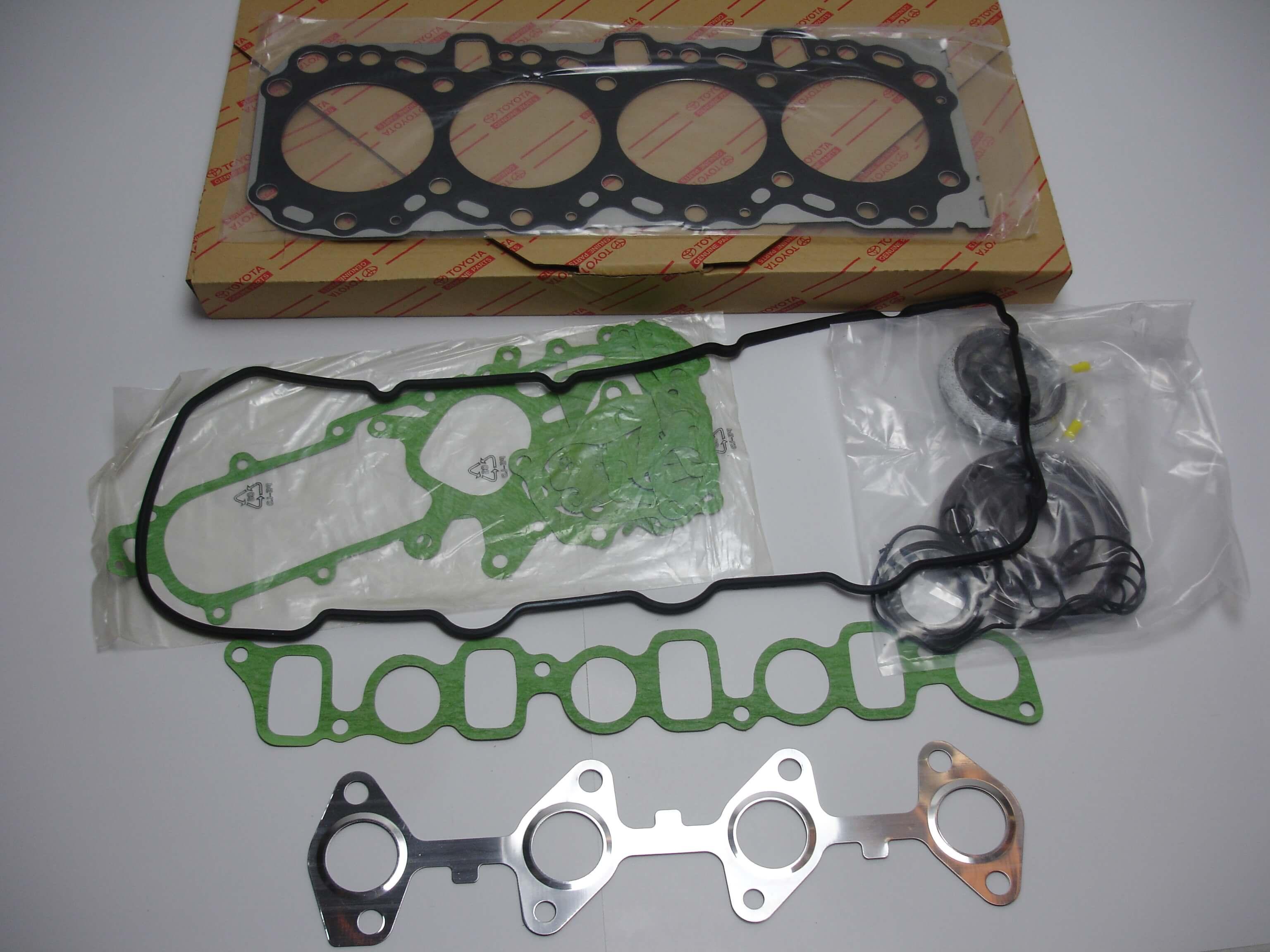 Toyota OEM 1KD FTV Engine Overhaul Gasket Kit 04111-30020 96-02