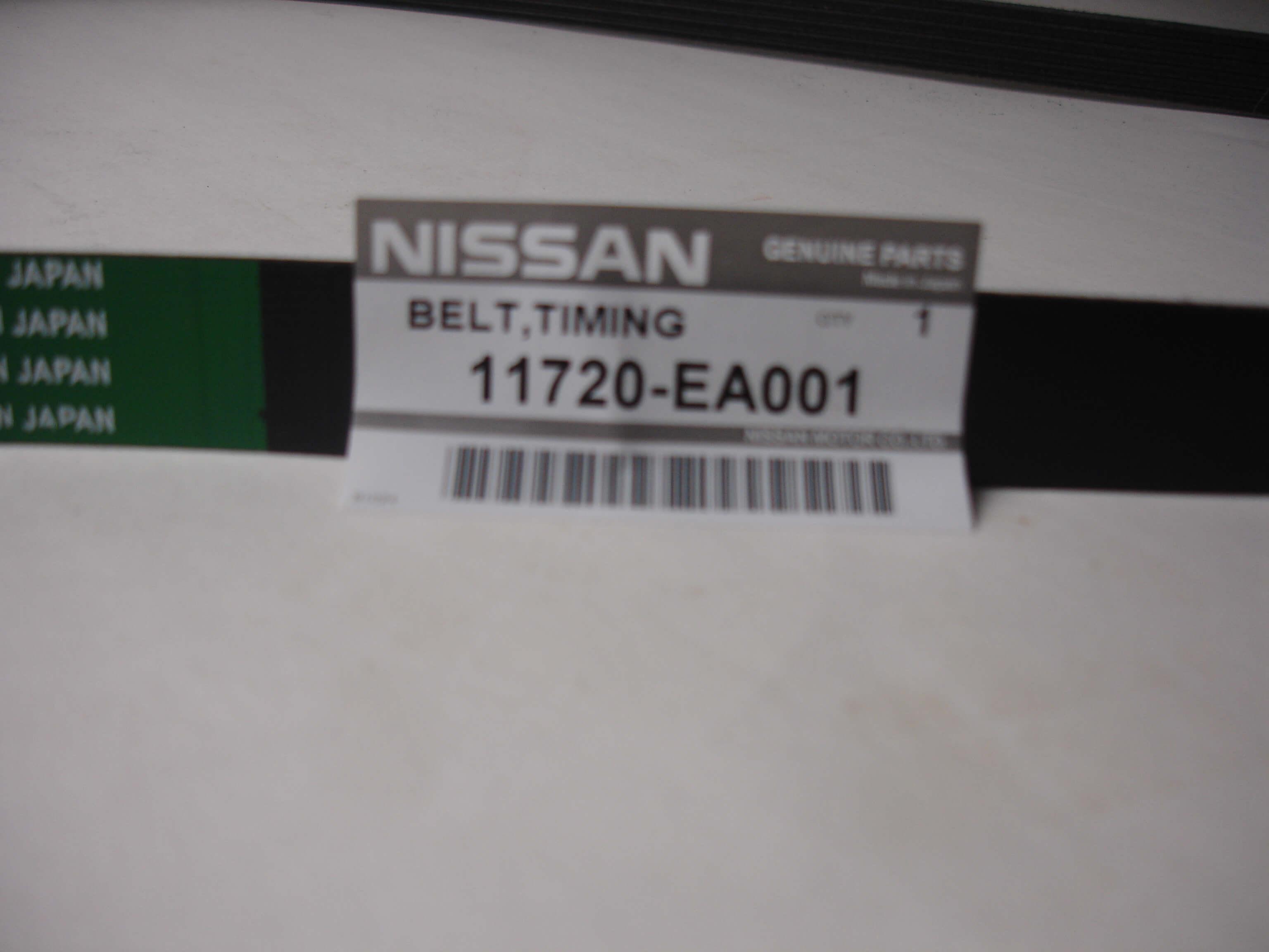 Nissan Genuine OEM Drive Belt 05-16 Frontier 2.5L 11720-EA001 QR25DE