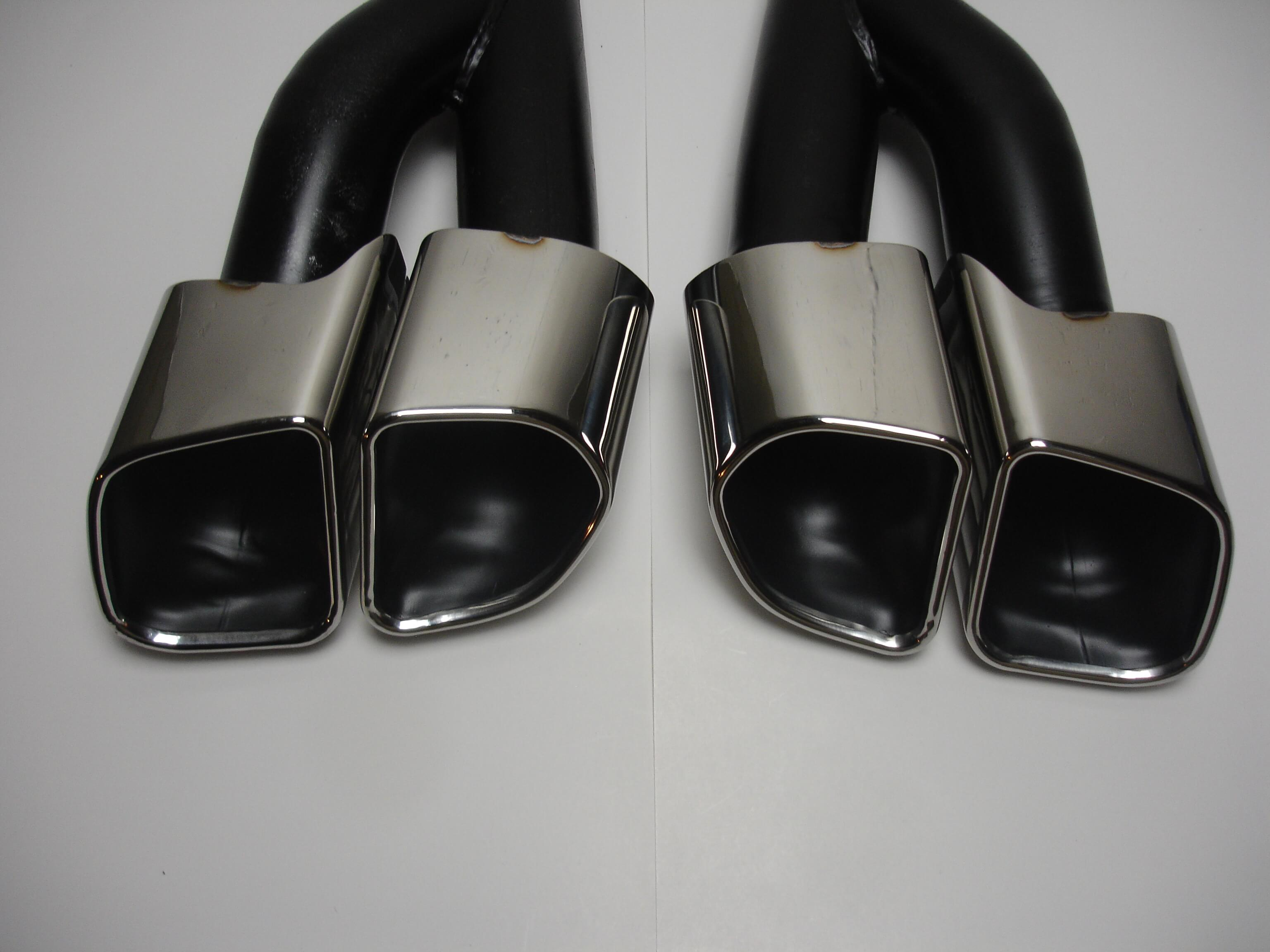 Porsche Cayenne 15-17 958.2 V6 Diesel and Hybrid Turbo Style Exhaust Tips
