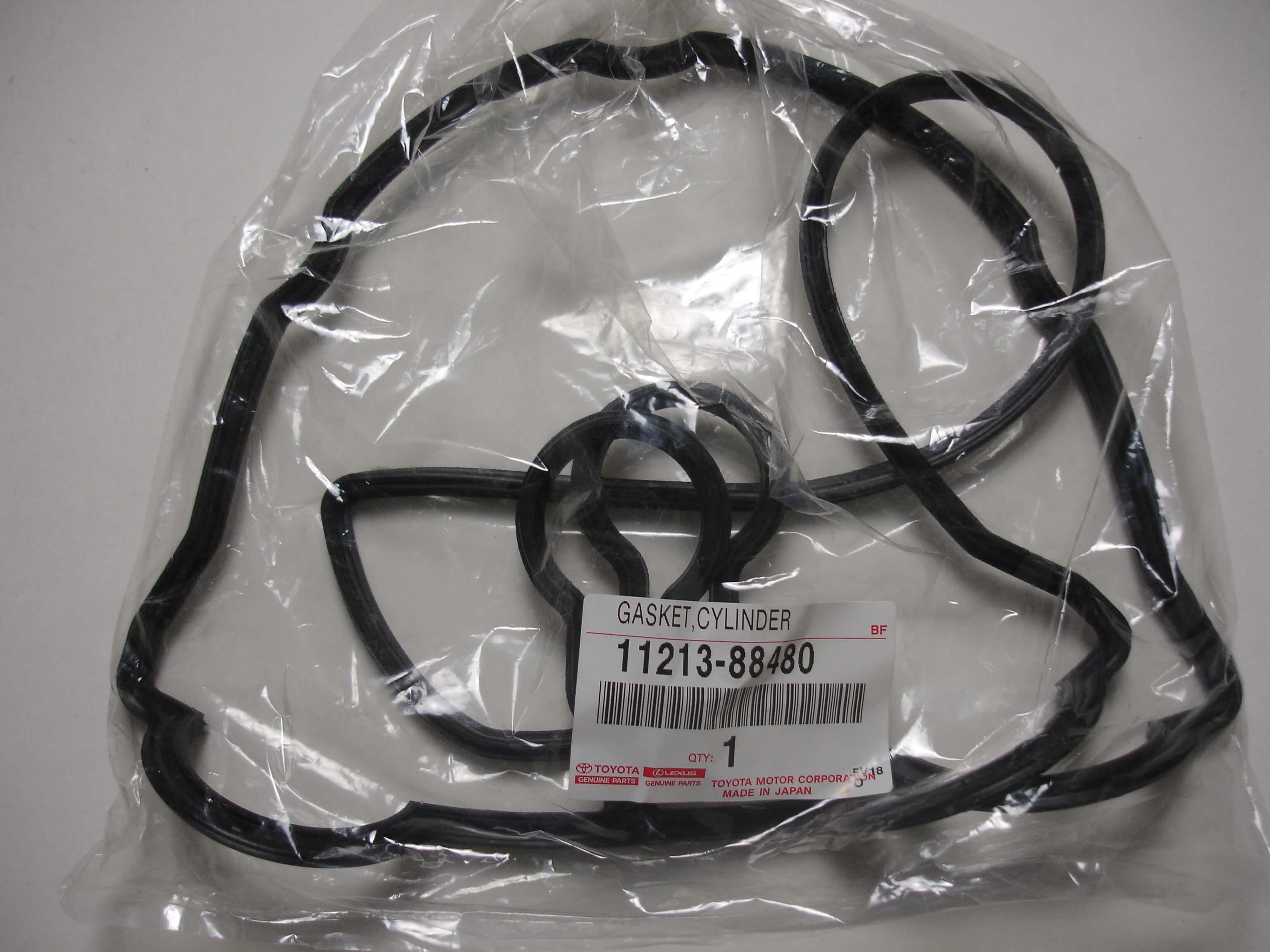 Toyota OEM 3S-GTE Gen 3 Valve Cover Gasket Set 11214-88480 11213-88480