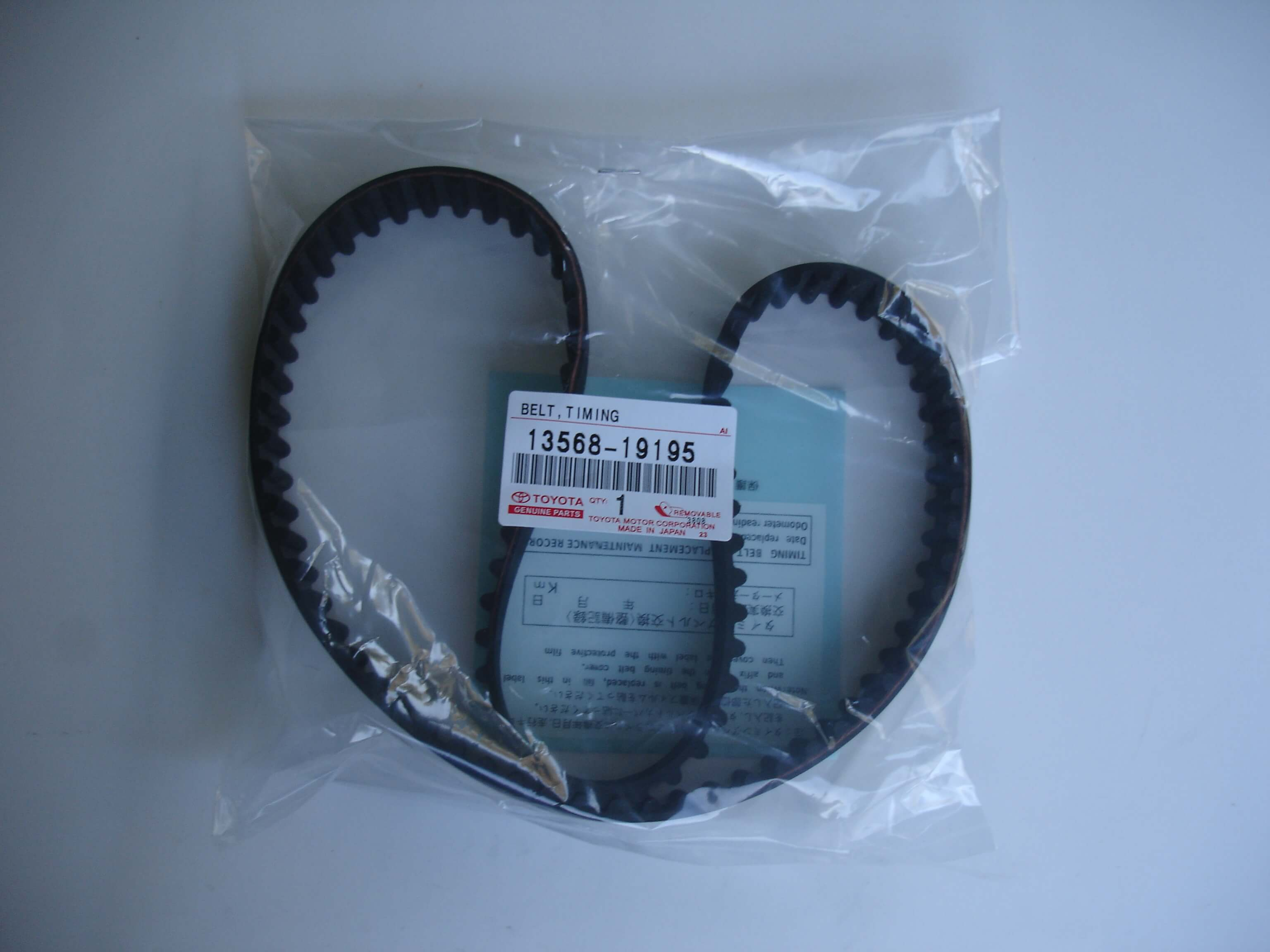Toyota OEM 1HZ 1HZ-T 1HD 1HD-T Timing Belt 13568-19195 92MR25