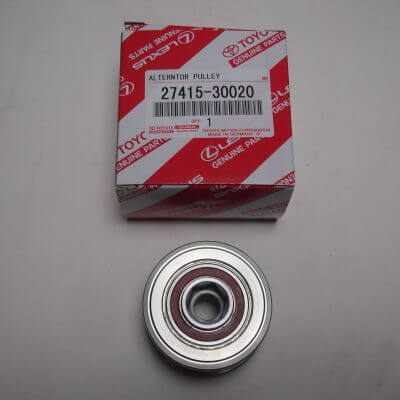 Toyota OEM Alternator Pulley With Clutch 27415-30020