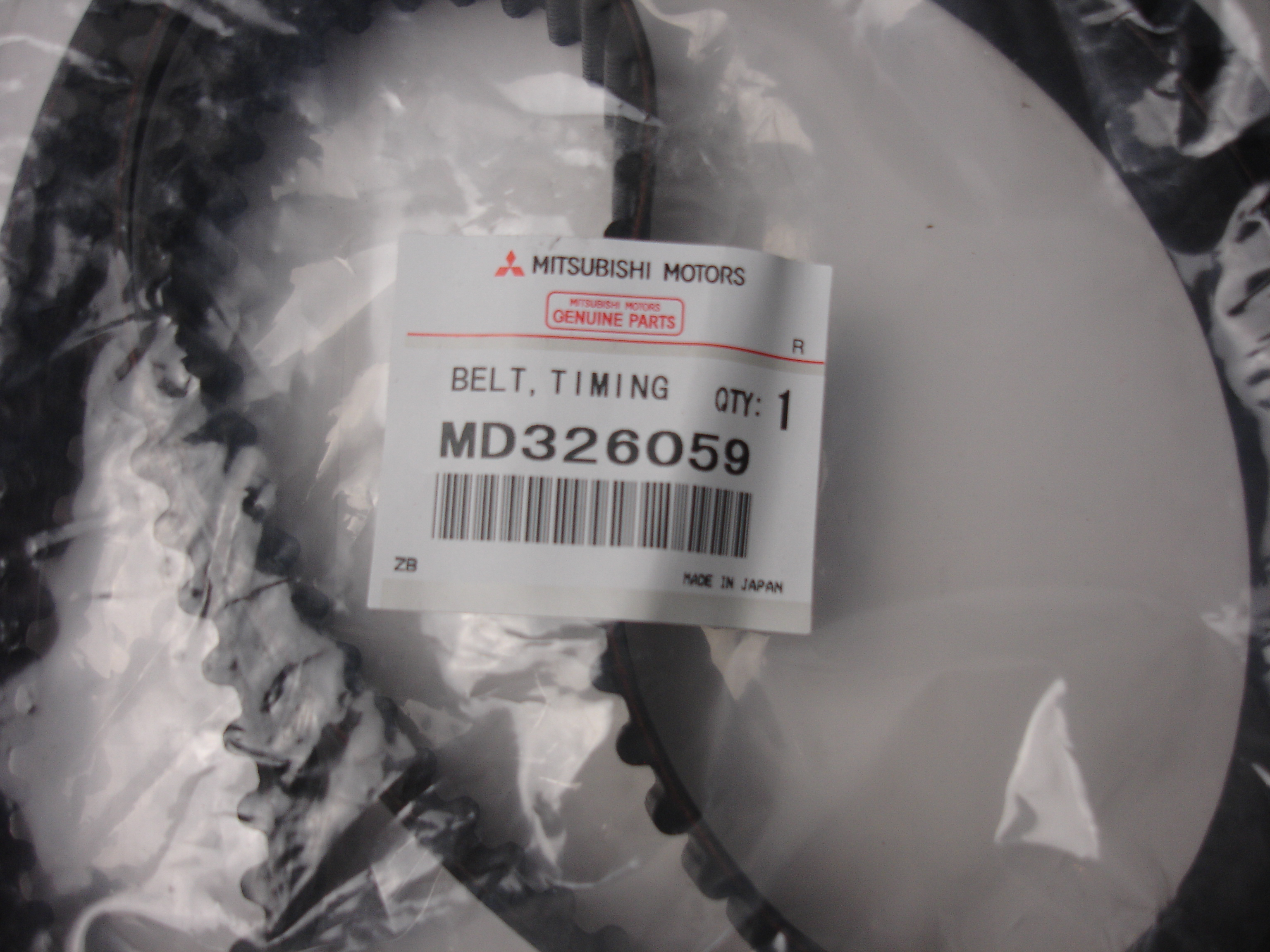 MD326059 Mitsubishi 4G63 Turbo Timing Belt