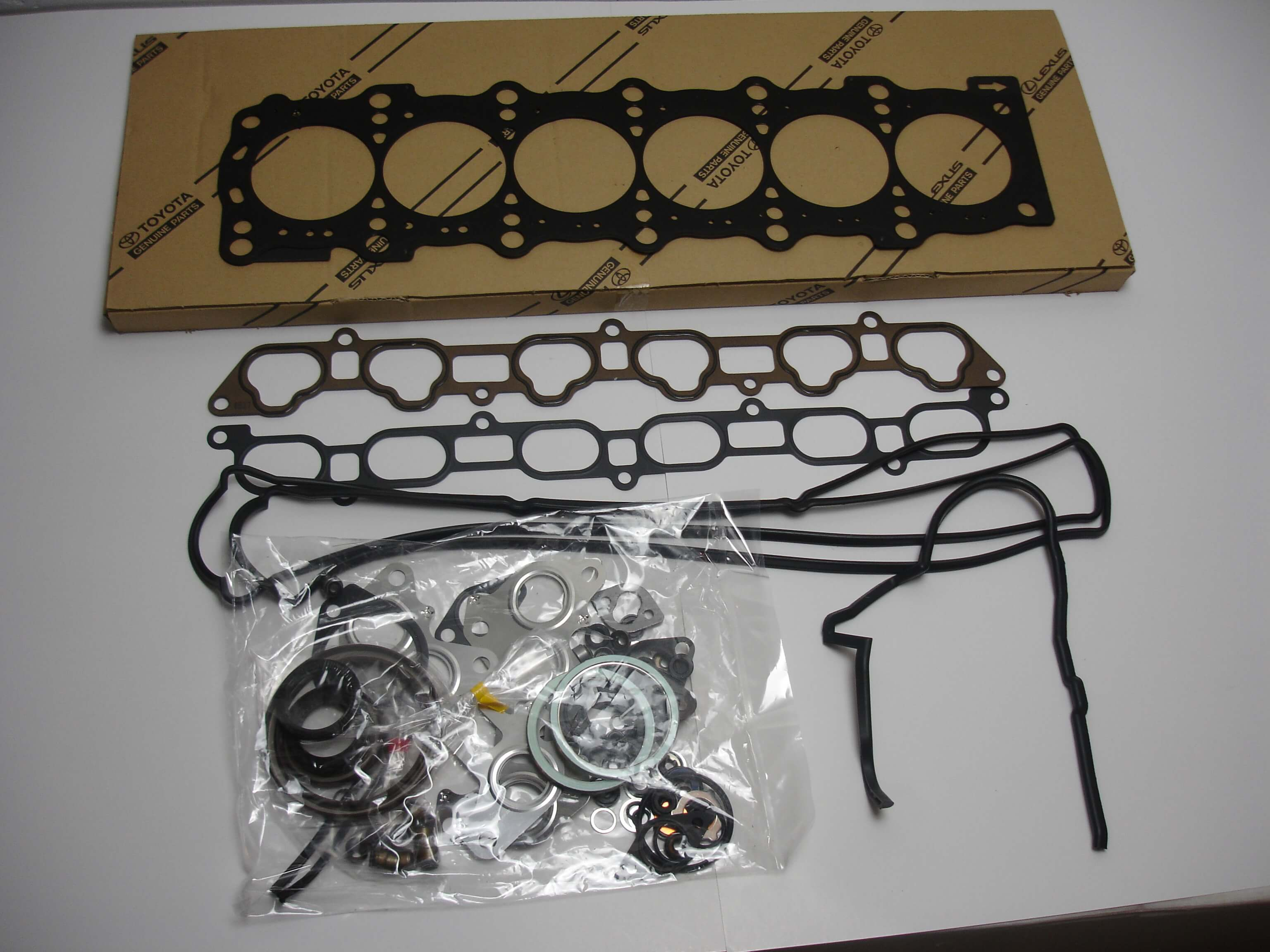 Toyota Oem 1jz Gte Vvti Engine Overhaul Gasket Kit 04111 46111 96 04 Wiring Harness Plugs