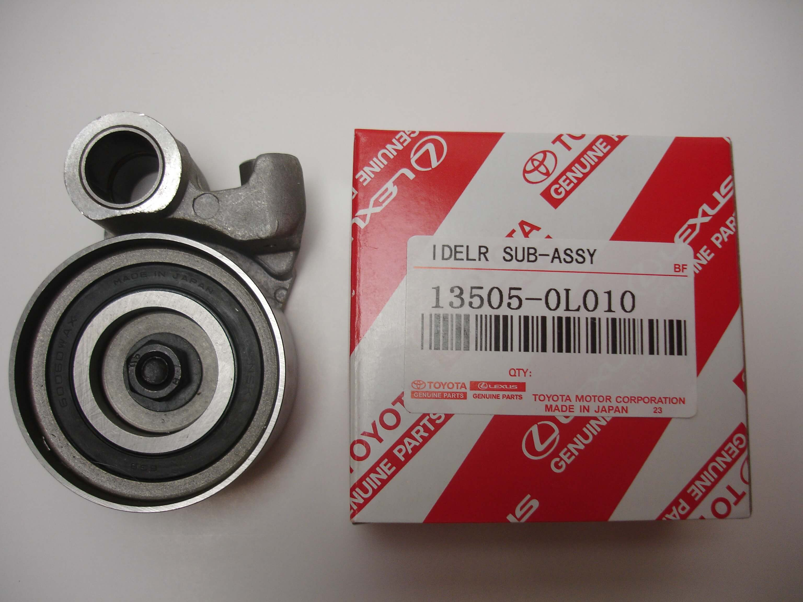 Toyota-OEM-1KD-FTV-and-2KD-FTV-and-1KZ-TE-Timing-Belt-idler-13505-0L010