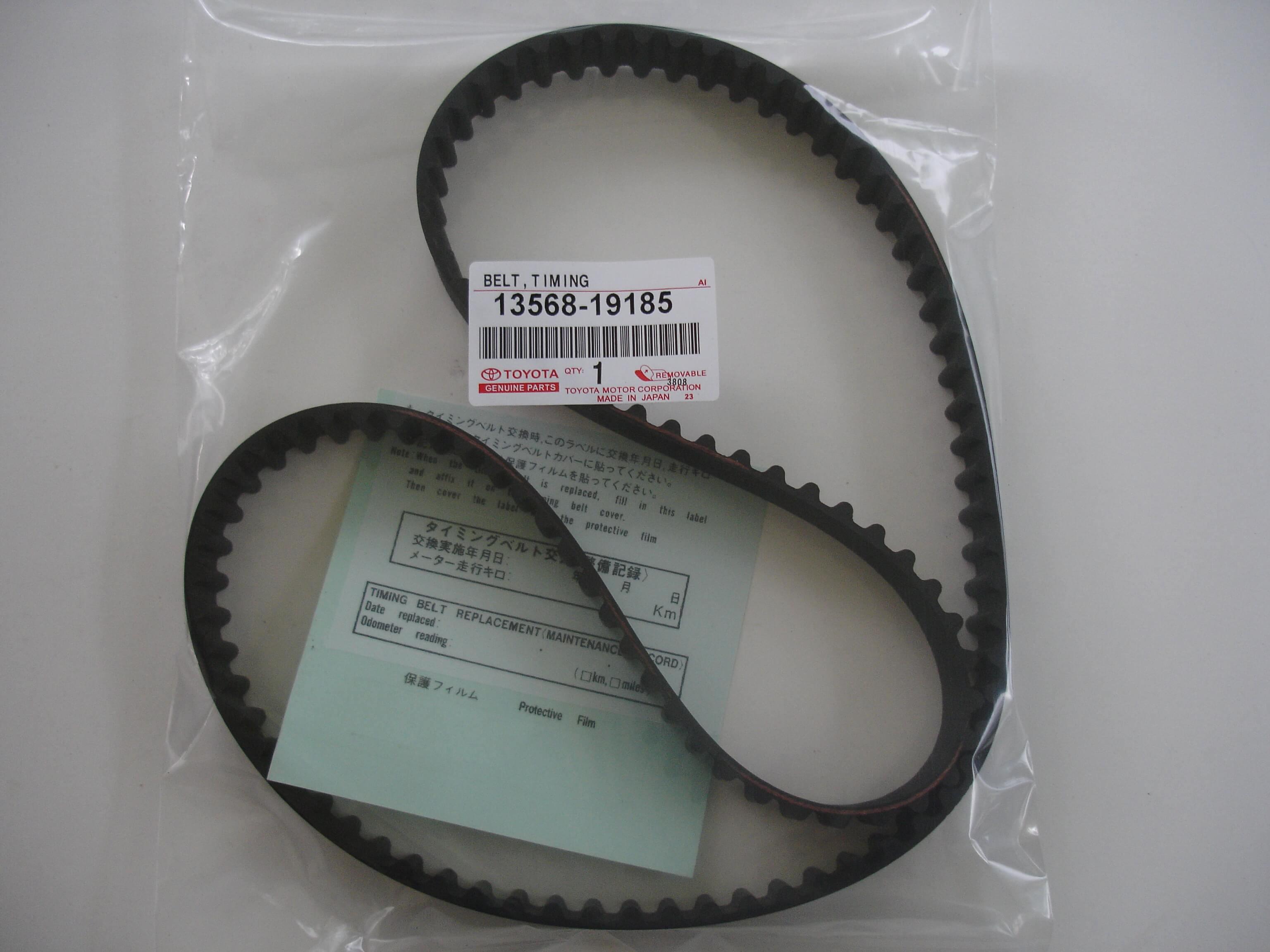 Toyota Oem 4a Ge Timing Belt 13568 19185 Blacktop 20 Valve 95 98 Product Ae86