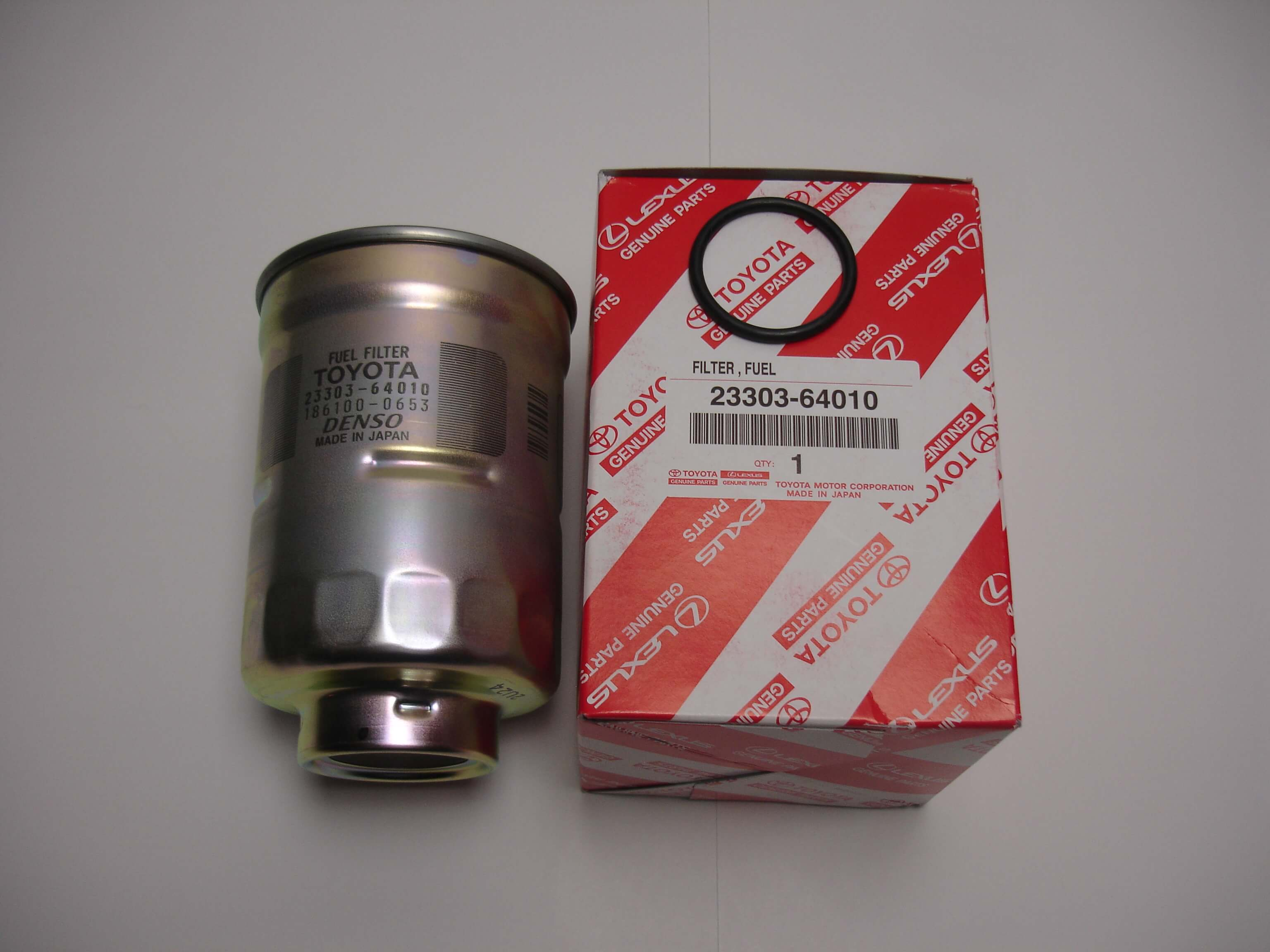 Toyota Oem Fuel Filter For 1kz 1kd 2kd Diesel 4runner Land Cruiser 23303 64010 Street Solutions