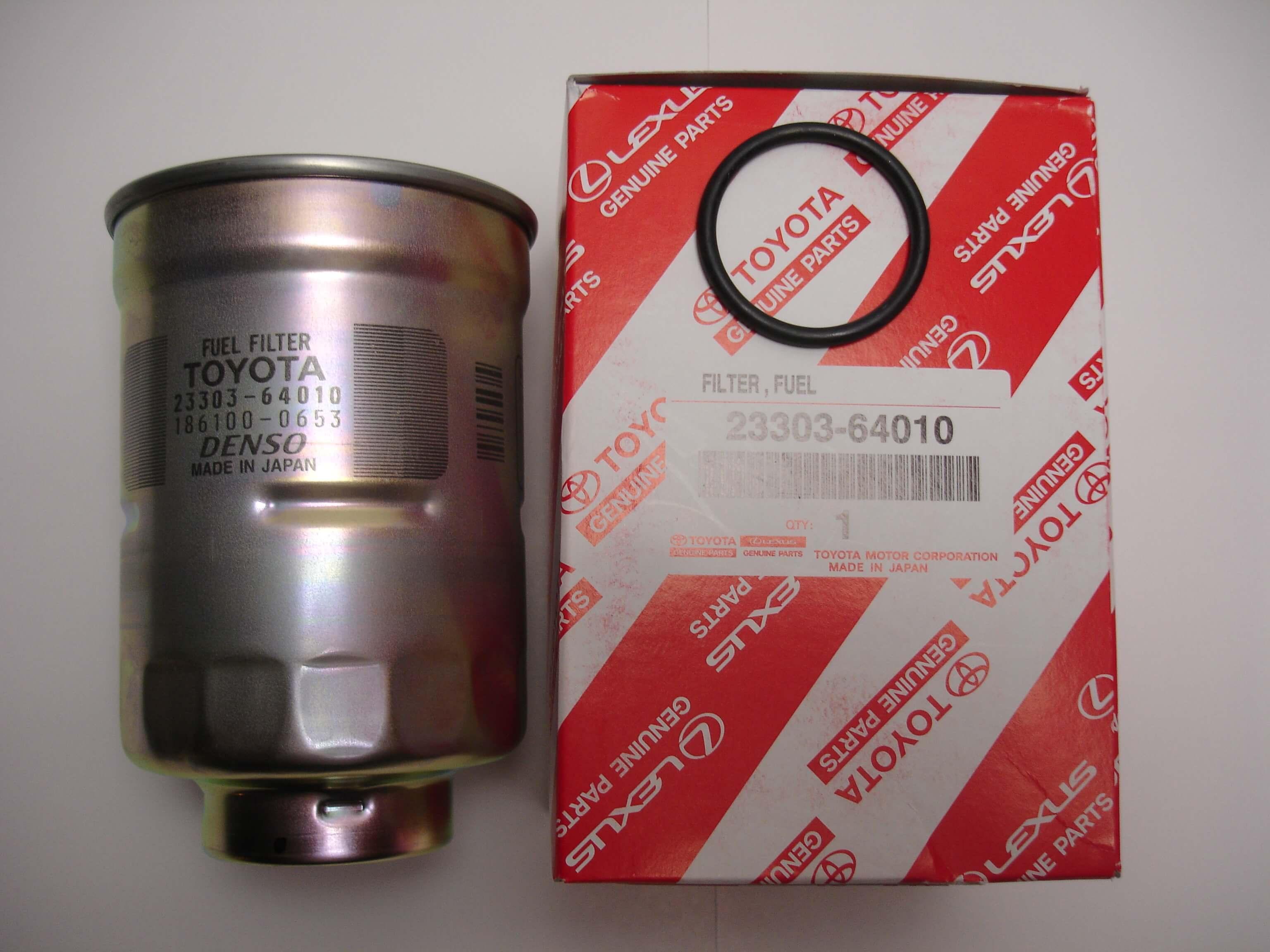 Toyota OEM Fuel Filter for 1KZ 1KD 2KD Diesel 4Runner Land Cruiser  23303-64010