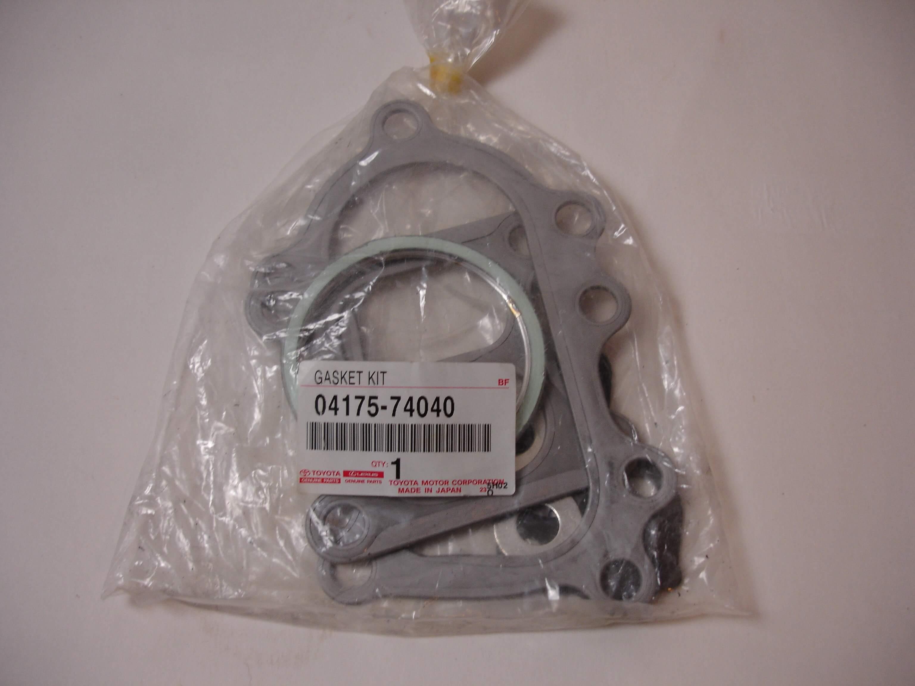 Toyota OEM 3S-GTE Turbocharger Gasket Kit 04175-74040 GEN3 MR2 SW20 ST205