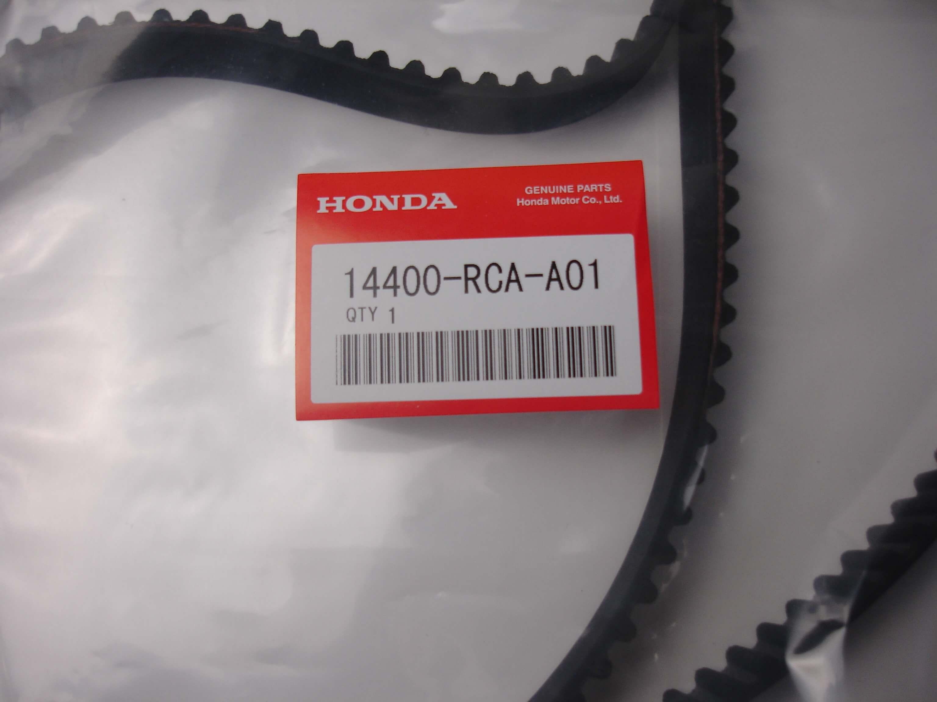 OEM Timing Belt for Honda 3.5L V6 part number 14400-RCA-A01 197YU20. 2003-2014 Accord including Hybrid. 2010-2014 Crosstour with V6. 2005-2014 Odyssey. 2006-2014 Ridgeline. 2005-2014 Pilot.