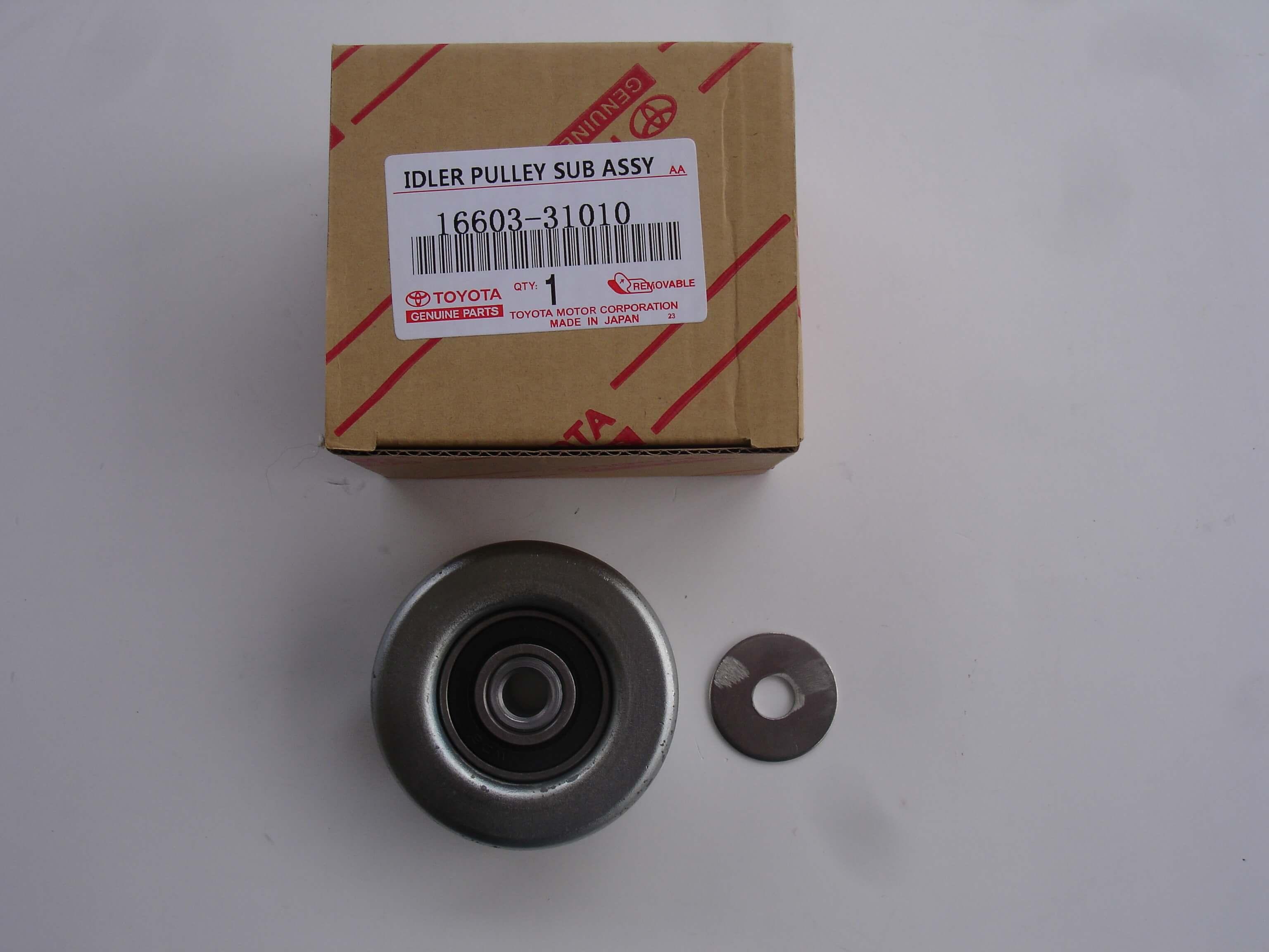 Toyota Lexus OEM 16603-31010 Idler Pulley No.1 16603-31040 Tacoma