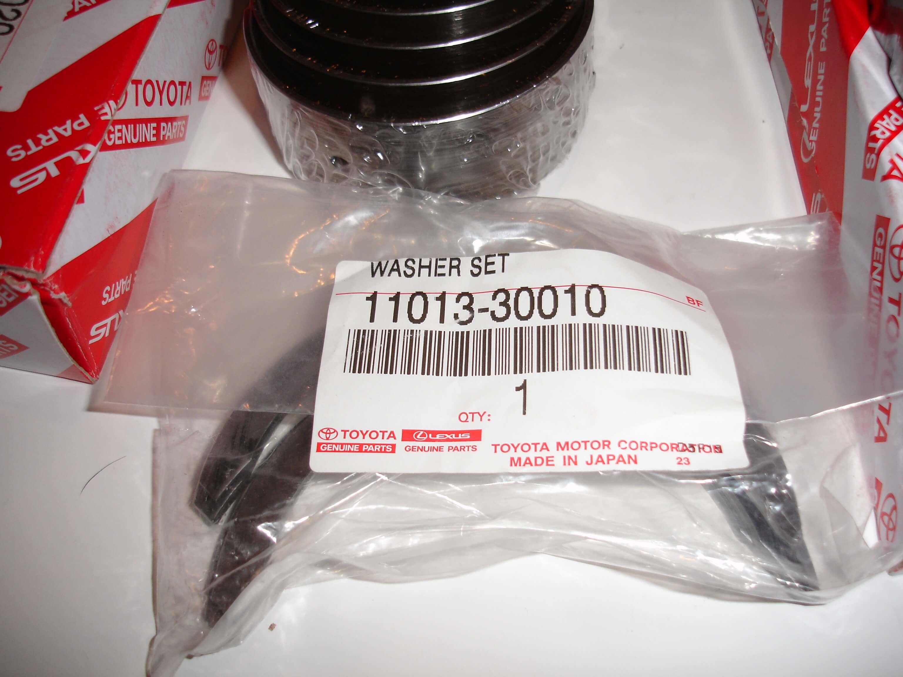 Toyota-OEM-Genuine-1KZ-1KD-2KD-Rod-Main-Thrust-Bearings-U-S-0-25-O-S-25 Toyota-OEM-Genuine-1KZ-1KD-2KD-Rod-Main-Thrust-Bearings-U-S-0-25-O-S-25 Toyota-OEM-Genuine-1KZ-1KD-2KD-Rod-Main-Thrust-Bearings-U-S-0-25-O-S-25 Toyota-OEM-Genuine-1KZ-1KD-2KD-Rod-Main-Thrust-Bearings-U-S-0-25-O-S-25 Have one to sell? Sell now Toyota OEM Genuine 1KZ 1KD 2KD Rod Main Thrust Bearings U/S 0.25 O/S .25