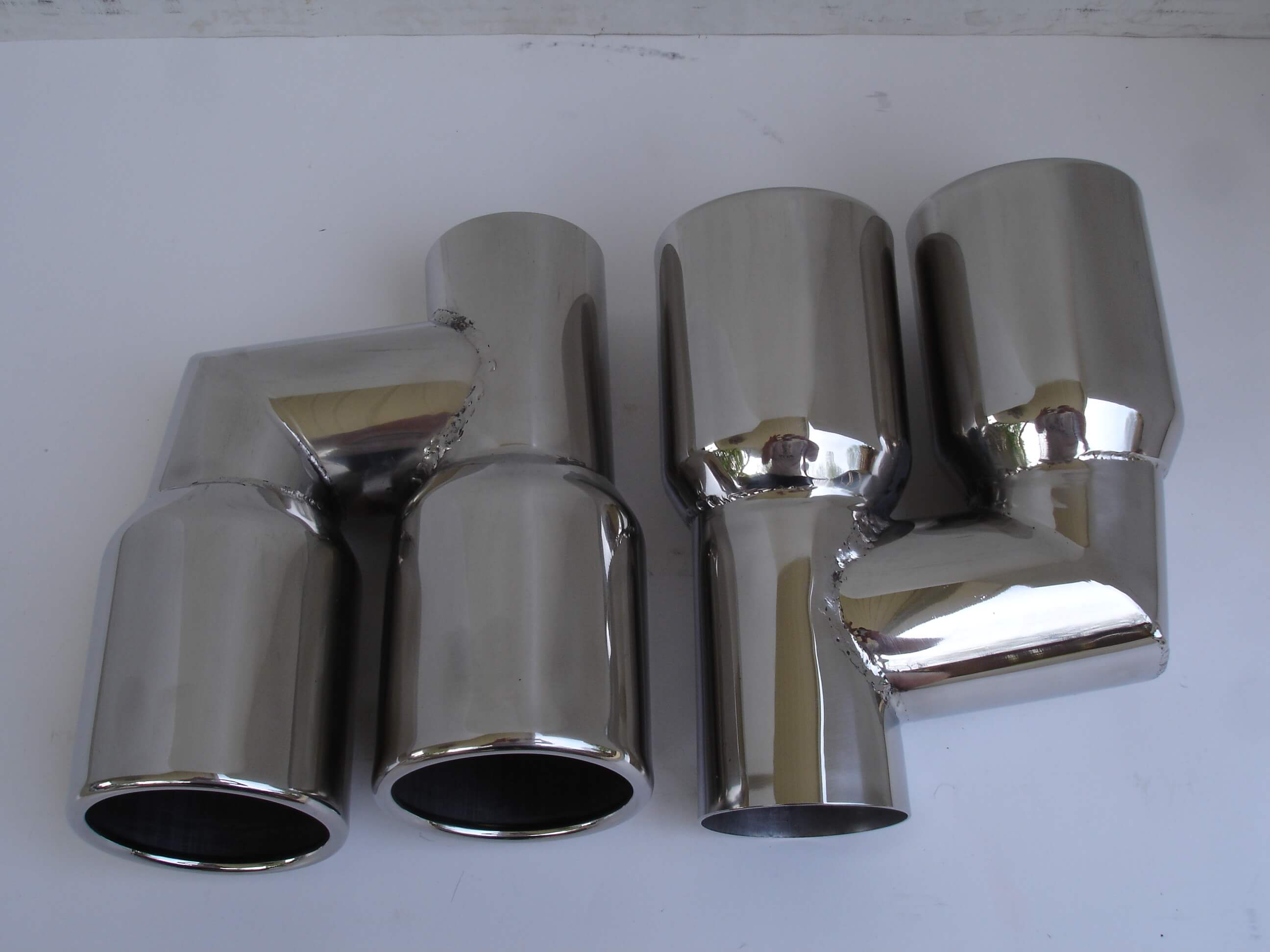 Audi A4 A5 A6 A7 A8 S4 S5 S6 S7 S8 Exhaust Tips Tailpipes 3""