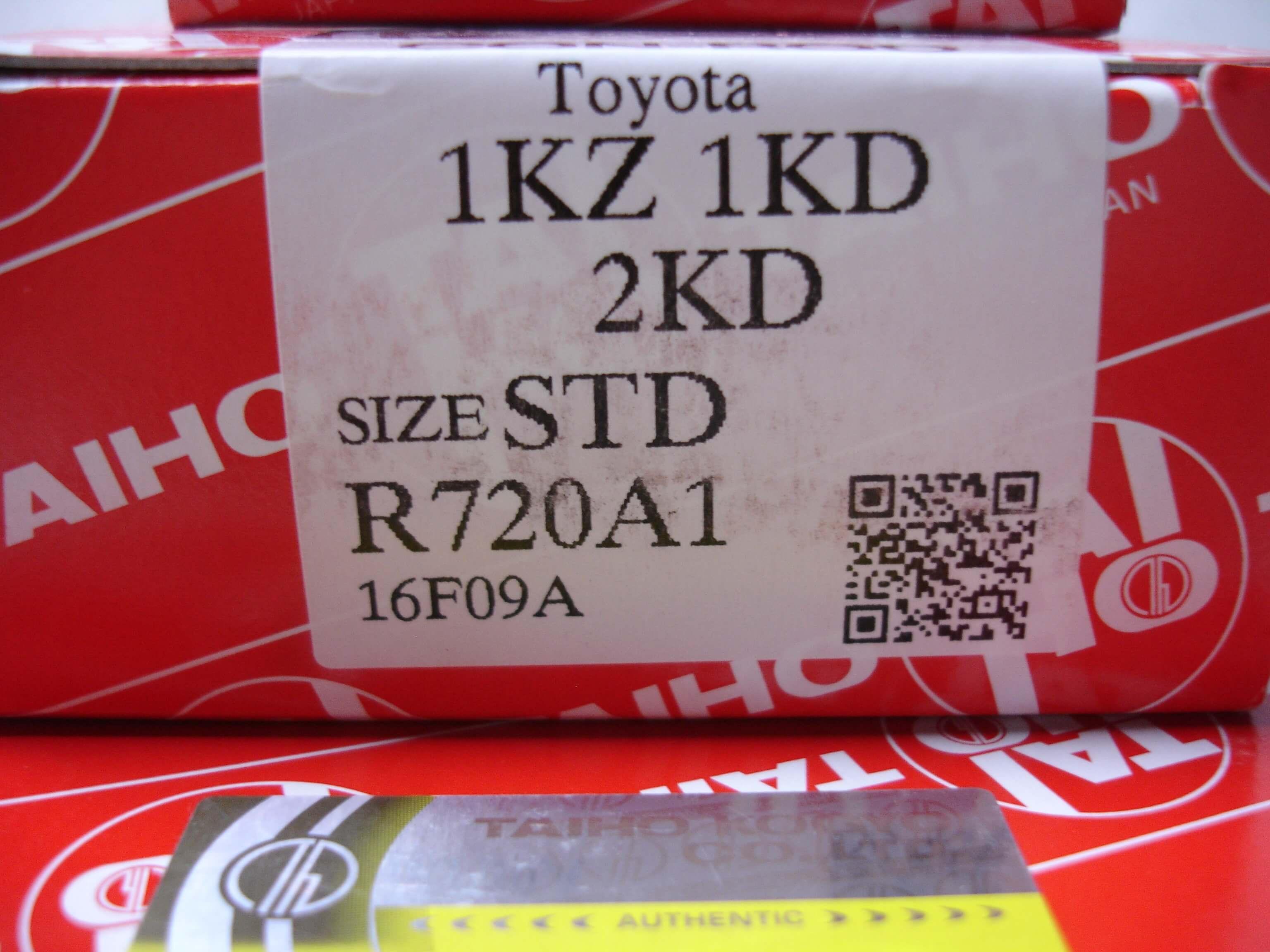 Toyota Genuine TAIHO 1KZ 1KD 2KD Connecting Rod Main Thrust Bearings STD Size