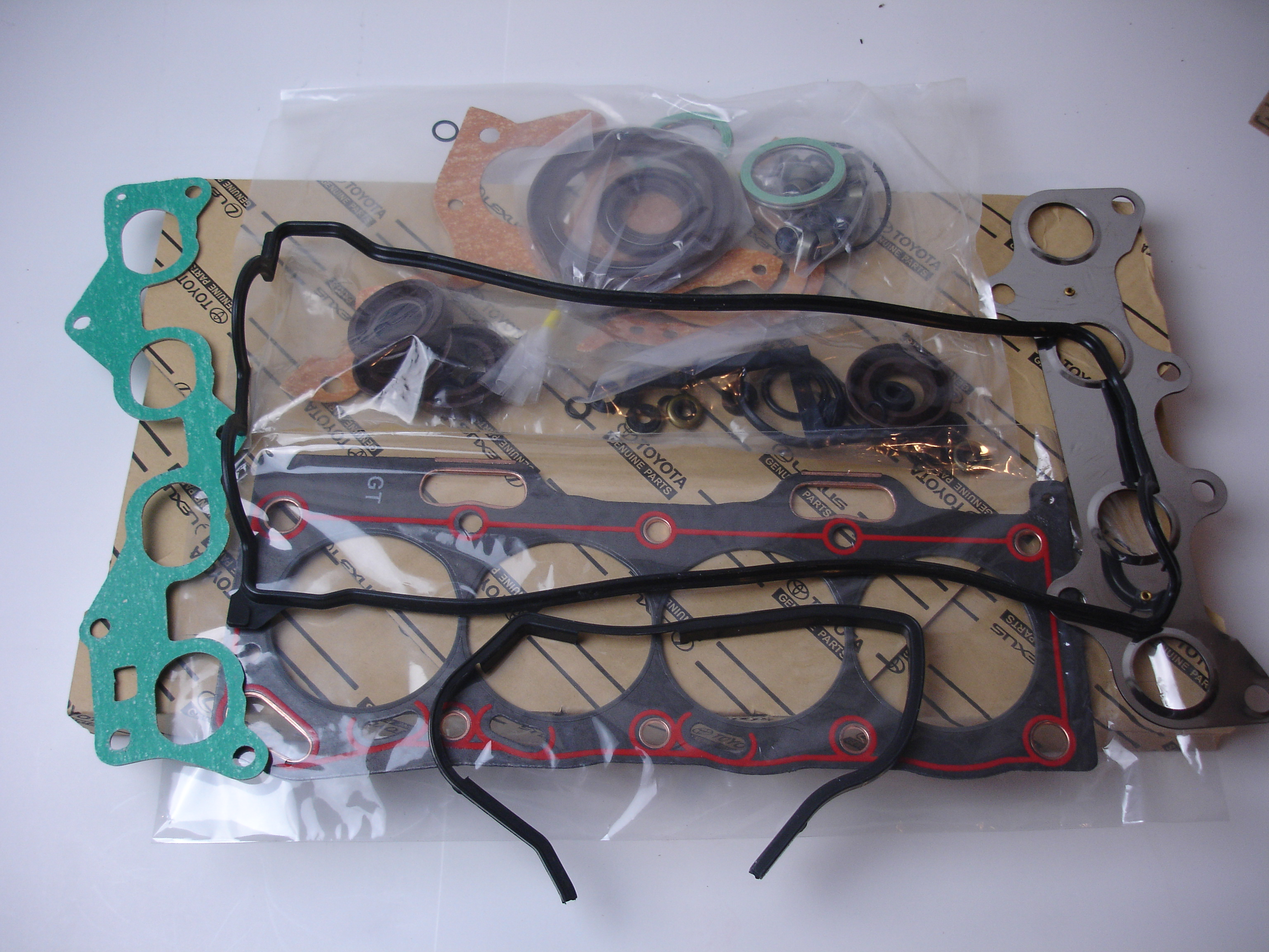 04111-11140 Toyota OEm gsket overhaul kit 4efe